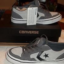 Converse Low Tops Court Mens Size 7 Grey  Photo