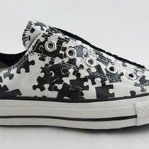 Converse M7/w9 Puzzle Ox Low Top Sneakers Jigsaw Photo