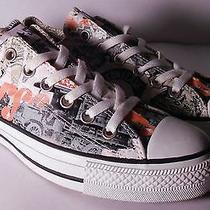 Converse Men's All Star Low Top Rare Century Black/white/orange Size 6 Women's 8 Photo