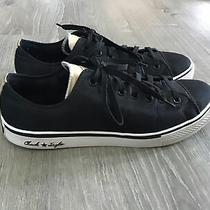 Converse Mens Size 12 Black All Star Chuck Taylor Sneakers Lace Up Shoes Photo