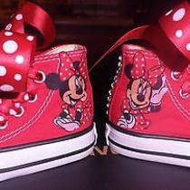 Converse Minnie Mouse Custom Red Size 2 Photo
