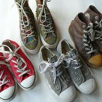 Converse Mix of Sneakers & Boots-Size(s) 2 -3.5 Uk/34-36 eu/2.5-5.5 Us Excellent Photo