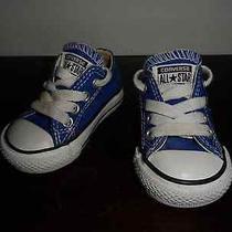 Converse- Navy- Infant Size 3 Photo