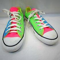 Converse Neon Color Block Athletic Shoes Size 5.5 Men's Personalized Keara  Photo