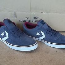 Converse Nick Trapasso Ii Ox Graphite White Suede Skateboard Shoes Mens Size 10 Photo