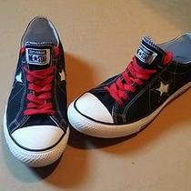 Converse One Star Black Low Top Shoes Photo