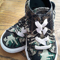 Converse-One-Star-Infant-Size-8-Camouflage-Print-Low-Top-Tennis-Shoes-Fun-Casual Photo