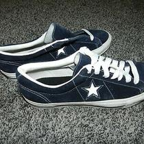 Converse One Star Ox Blue Suede Shoes Sneakers Low in Men's Size 12 Photo