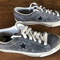 Converse One Star Suede Gray Size 5 1/2 Photo