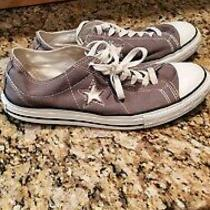 Converse One Star Womens Size 11 Grey Sneakers Gray Photo
