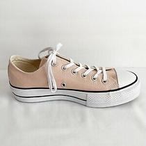 Converse Pink Blush Platform Trainers Size 9 Photo
