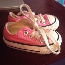 Converse Pink Infant Size 2 Photo