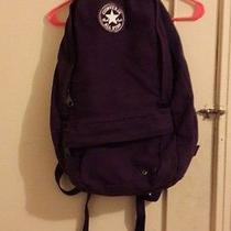 Converse Purple Bagpack Photo