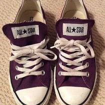 Converse Purple Sneakers Photo