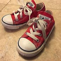 Converse - Red - Toddler Size 7 Unisex - Low Top Photo