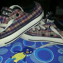 Converse Shoes Children's 12 Plaid Photo