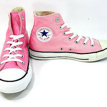 Converse Shoes Chuck Taylor Hi All Star Pink Sneakers Men 6 Wo 8 Photo