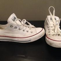 Converse Size 8 White Photo