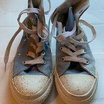Converse Sneakers Light Blue Forever Design Size 13 Euc Photo