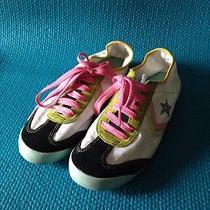 Converse Sneakers Womens 6.5 Men's 5 Fun Pink Gold Black Photo