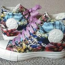 Converse Wedge All-Stars (Women's 6)  Tropical  Chuck Taylor  Photo