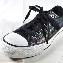 Converse Womans 7 Holographic Low Top Sneakers Multi Photo