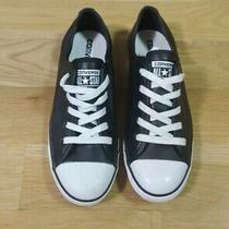 Converse Women's Chuck Taylor Dainty Leather Casual Sneakers. Size 7 Photo