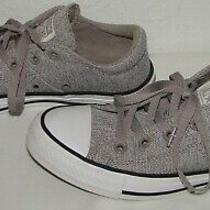 Converse Womens 561763f All Star Madison Gray Sneakers Size 6 Photo
