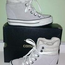 Converse Womens Wedge Sneaker Womens Size 5.5  Photo