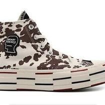 Converse X Brain Dead Chuck Taylor 70 Egret Cow Print Size 11.5 -Order Confirmed Photo