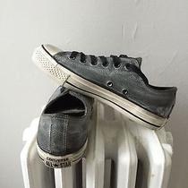 Converse X Chuck Taylor Ox John Varvatos Pebbled Leather 150171c Sz Us M 5 W 7 Photo