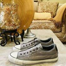Converse X John Varvatos Sneakers Shoes Black Gray 151298c Men Size 6.5 Women 8. Photo