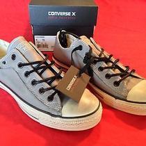 Converse X John Varvatos Unisex Size 8.0 m/10.0 W Ct Stud Leather Ox Frost Gray Photo