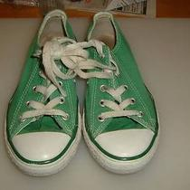 Converse Youth Green Low Tops All Star Athletic Shoe Size 1us 13.5 Eu Photo