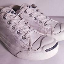 Converse Youth's Low Top X Jack Purcell Size 1 White Photo