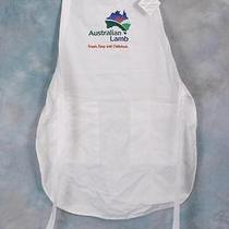 Cool Rare Australian Lamb New White Chefs Apron Gourmet Chef Outfit Kitchen Photo