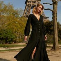 Cooper St Prism Black Maxi Dress - Sold Out  - Size 10 - New With Tags Photo