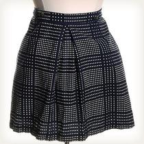 Cooperative by Urban Outfitters Print Blue Mini Skirt Sz 10 Photo