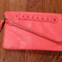 Coral Purse With Gold Chain Photo