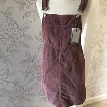 Cord Pinafore Dress Size 10 Blush Photo