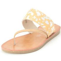Corkys Womens Camilla Leather Open Toe Casual Slide Sandals Photo