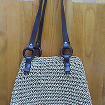 Cornhusk Crocheted Shoulder Handbag Photo