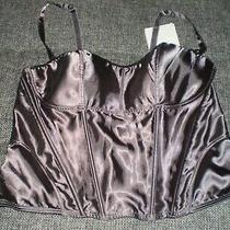 Corset With Bust Avon Cosmetics Dark Grey Colour Size 18/20 (Uk) Eur 48/50 New  Photo