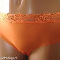 Cosabella Airlace Bikini Sun Orange Small  Nwt Photo