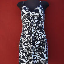 Cosabella Black and White Dress Size M  Made in Italy Photo