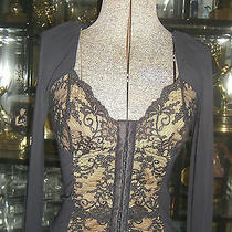 Cosabella Black Corset Top Xs Photo