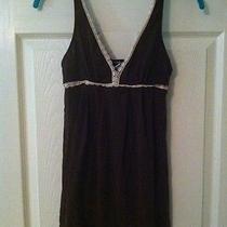 Cosabella Brown Mesh Nightgown Lingerie Nightie Babydoll Chemise Medium Photo