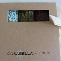 Cosabella for Jcrew Thong Set (Size M/l) Brand New in Box Photo