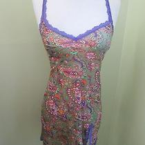 Cosabella Ladies Lingerie Night Gown Floral Lace Trim Babydoll Small Photo