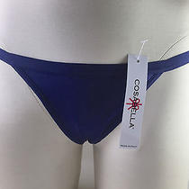 Cosabella Never Say Never G-String Sz Os Twilight  Photo